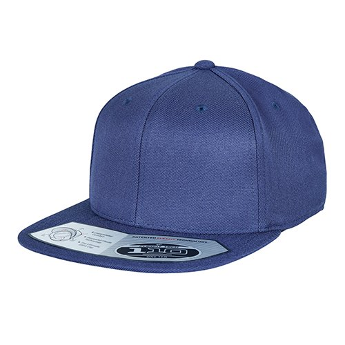 Flexfit 110 Fitted Snapback Cap navy