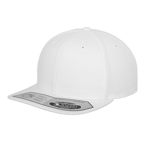 Flexfit 110 Fitted Snapback Cap white
